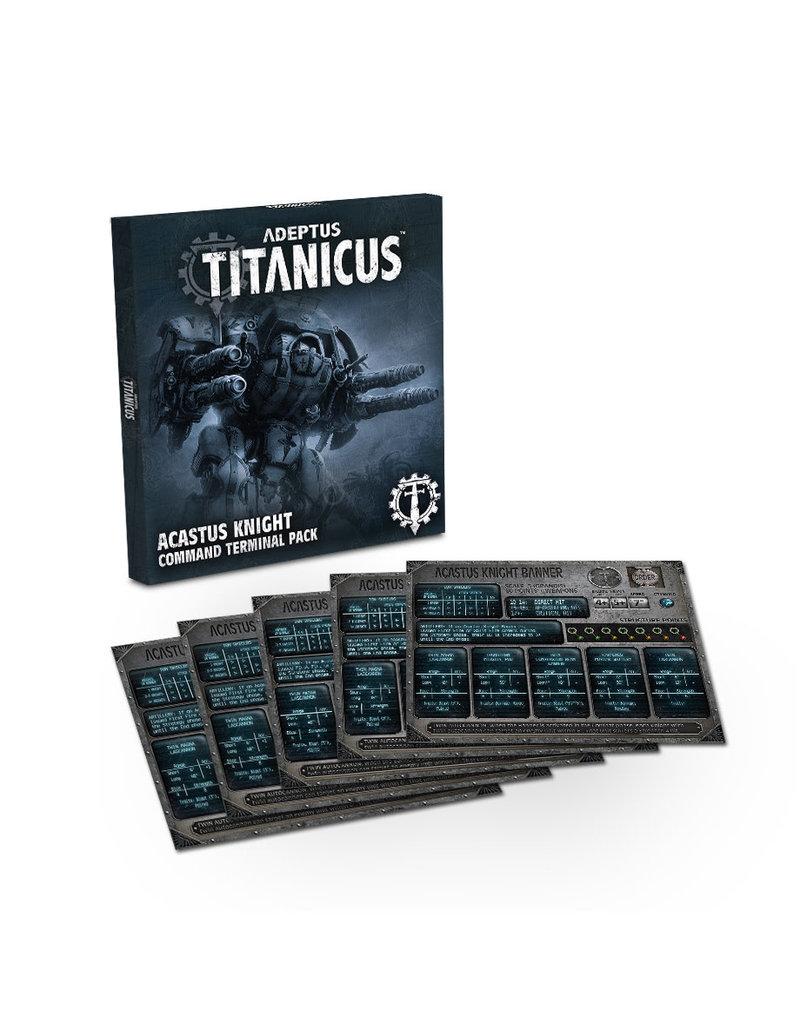 Games Workshop Acastus Knight Command Terminal Pack Adeptus Titanicus