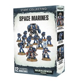 Games Workshop Space Marines Start Collecting!