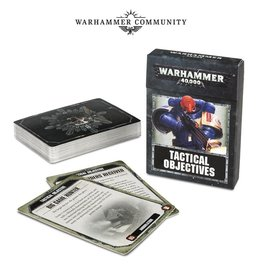 Games Workshop The Warhammer 40,000 Tactical Objectives