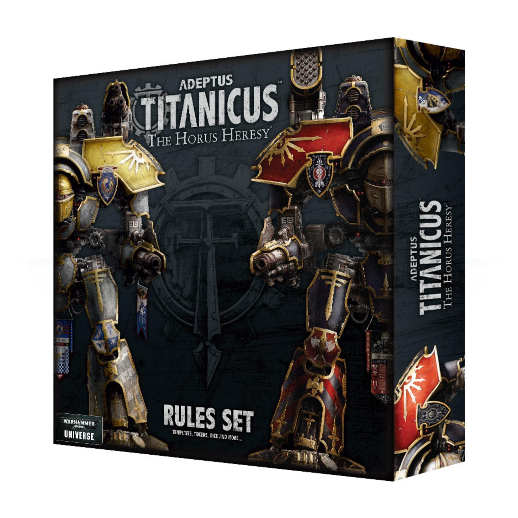 Games Workshop Adeptus Titanicus Rules Set
