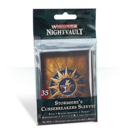Games Workshop Stormsire's Cursebreakers Sleeves Nightvault Warhammer Underworlds