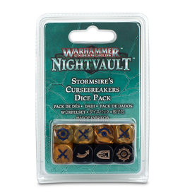 Games Workshop Stormsire's Curesbreakers Dice Pack Nightvault Warhammer Underworlds