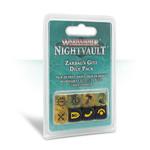 Games Workshop Zarbag's Gitz Dice Set WHU Nightvault