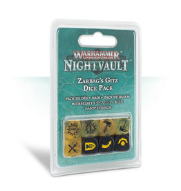 Games Workshop Zarbag's Gitz Dice Set WHU Nightvault
