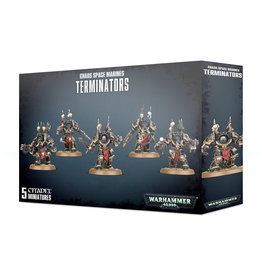 Games Workshop Chaos Space Marines Terminators II
