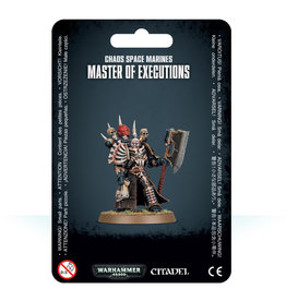 Games Workshop Master of Executions Chaos Space Marines