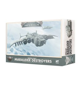 Games Workshop Aeronautica Imperialis Imperial Navy Marauder Destroyers