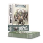 Games Workshop Aeronautica Imperialis Ork Air Waaagh! Aircraft & Aces Cards