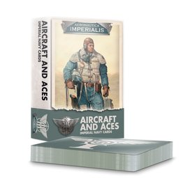 Games Workshop Aeronautica Imperialis Imperial Navy Aircraft & Aces Cards