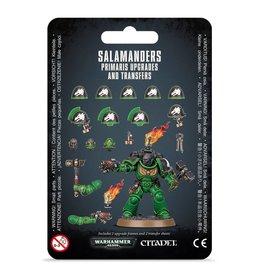 Games Workshop Salamanders Primaris Upgrades & Transfers
