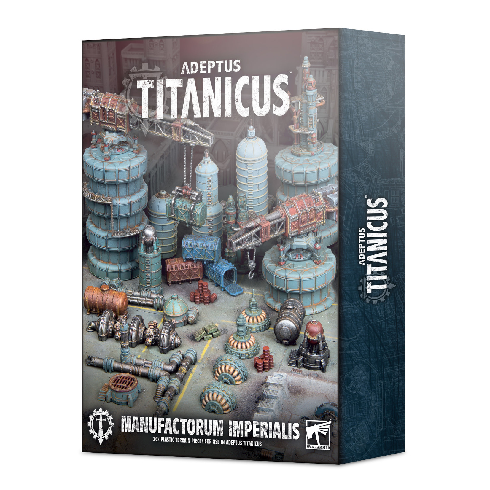 Games Workshop AT Civitas Imperium Industrial Scenery