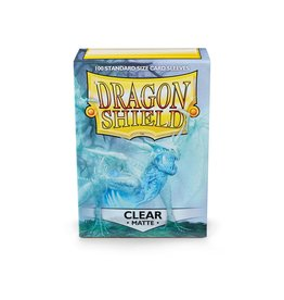 Arcane Tinmen Dragon Shield: Matte Clear (100)