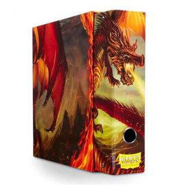 Arcane Tinmen Dragon Shield Slipcase Binder Red