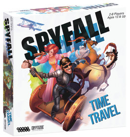 Cryptozoic Entertainment Spyfall Time Travel