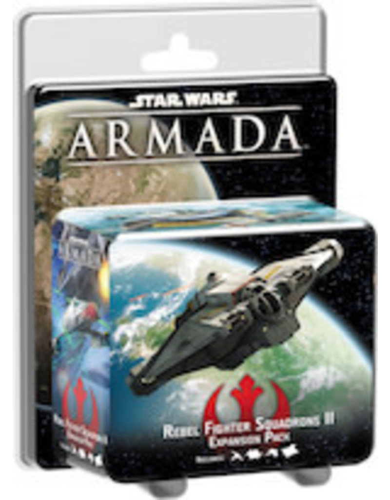 Fantasy Flight Games Rebel Fighter Squadrons II SW Armada Expansion Pack