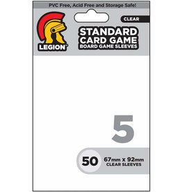 Legion Board Game Sleeves: Standard Card (50)