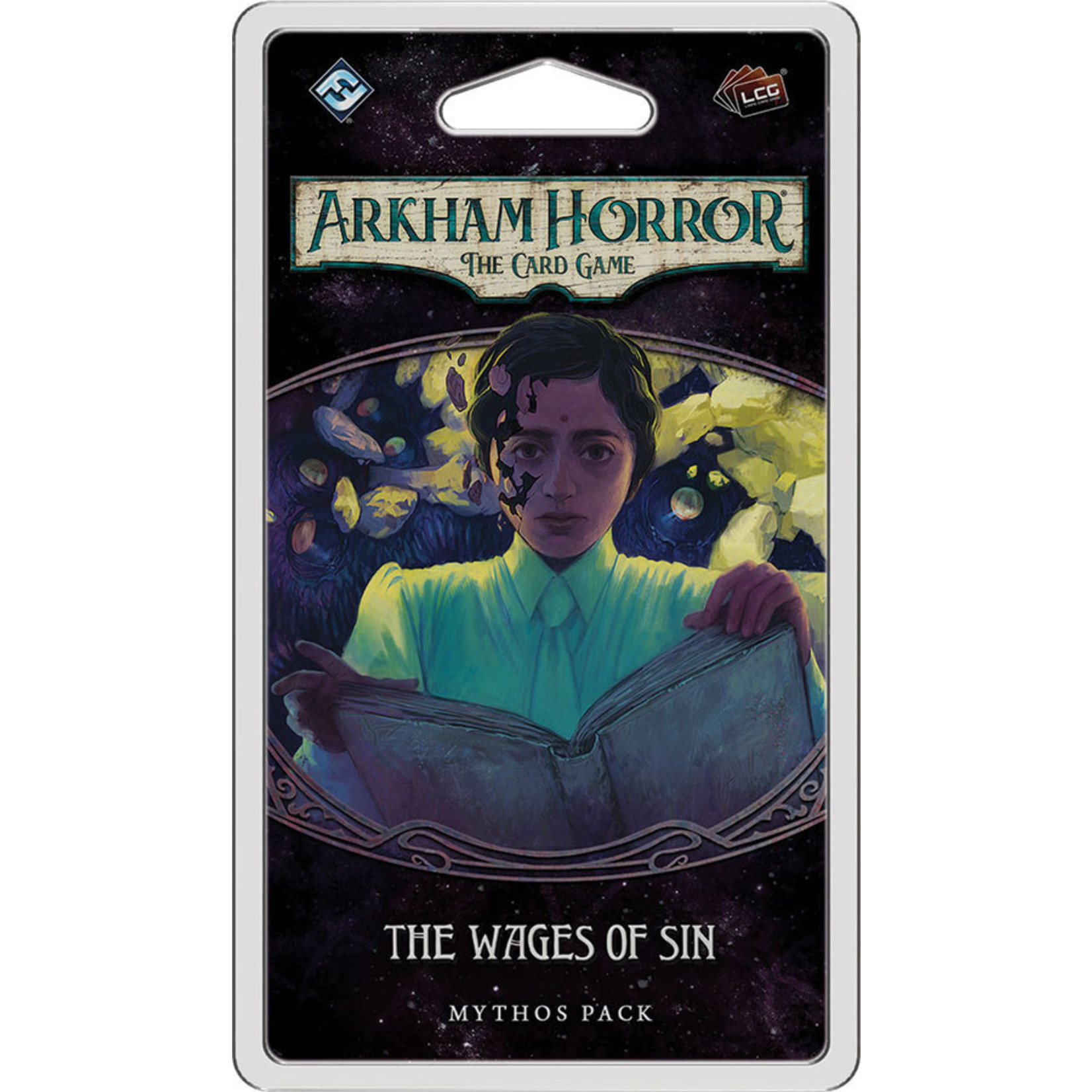 Fantasy Flight Games AH LCG The Wages of Sin Mythos Pack