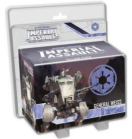 Fantasy Flight Games SWIA General Weiss Villain Pack