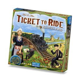 Days of Wonder Ticket to Ride Nederland Map Collection V4