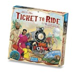 Days of Wonder Ticket to Ride India Map Collection V2