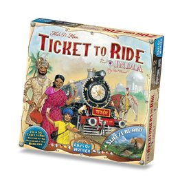 ANA Days of Wonder Ticket to Ride India Map Collection V2