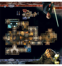 Fantasy Flight Games SWIA Skirmish Map Jabba's Palace