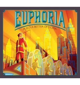 Stonemaier Games Euphoria: Build a Better Dystopia