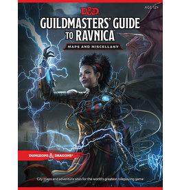 WOTC D&D D&D 5E MAP Guildmaster's Guide to Ravnica