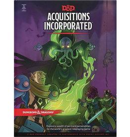WOTC D&D D&D 5E Acquisitions Incorporated Book