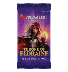 WOTC MTG MTG Throne of Eldraine Draft Booster