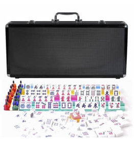Wood Expressions Black Aluminum Mahjong – American Style