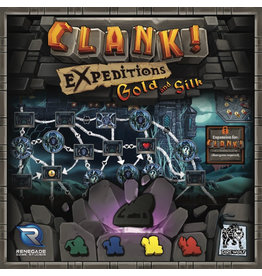 Renegade Game Studios Clank! Expeditions: Gold and Silk!