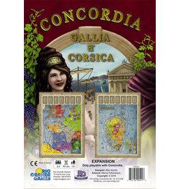 Rio Grande Games Concordia: Gallia and Corsica Expansion