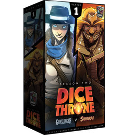 Roxely Games Dice Throne S2 Gunslinger vs Samurai