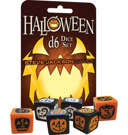 Steve Jackson Games Halloween D6 Dice Set