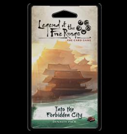 Fantasy Flight Games Into the Forbidden City Dynasty Pack L5R LCG