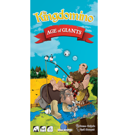 Blue Orange Games Kingdomino Age of Giants