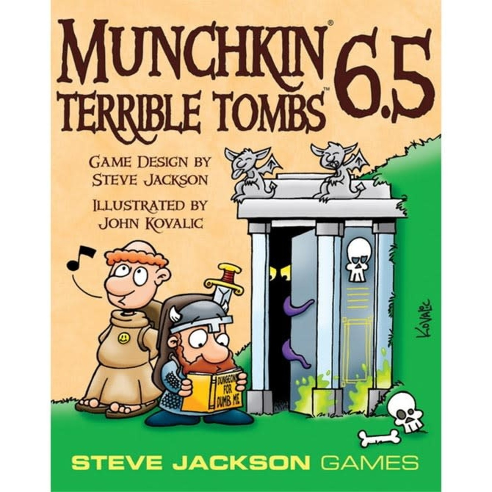 Steve Jackson Games Munchkin: 6.5 Terrible Tombs