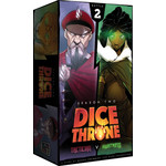 Roxely Games Dice Throne S2 Tactician vs Huntress Dice Throne S2