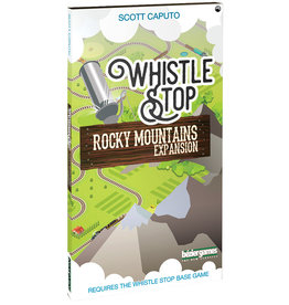 Bezier Games Whistle Stop Rocky Mountains Expansion