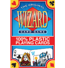 US Game Systems Wizard Card Game (100% plastic)