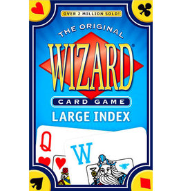 US Game Systems Wizard Card Game Large Index