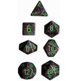 Chessex Speckled Poly Earth 7 die set