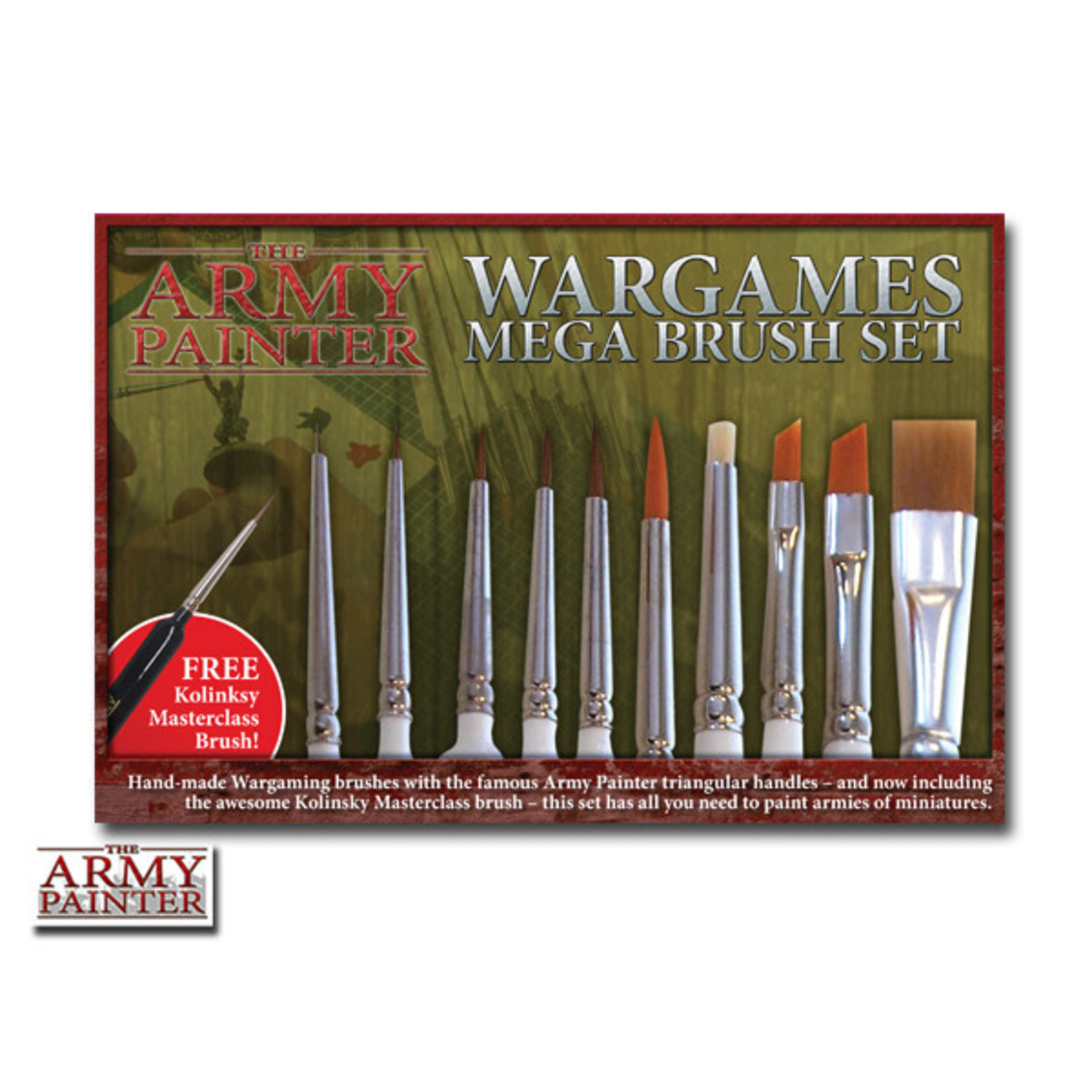 Army Painter Army Painter Mega Brush Set