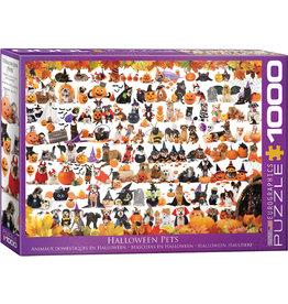 EuroGraphics Halloween Pets 1000pc