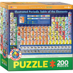 EuroGraphics Illustrated Periodic Table of the Elements 200pc