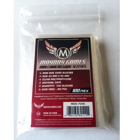 Mayday Games Mayday Mini Chimera Game Sleeves 100ct 43 x 65mm Red