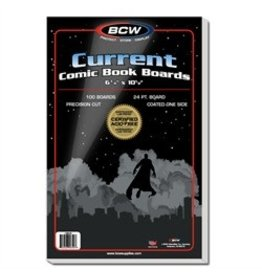 BCW Boards: Current 6.75x10.5 (100)
