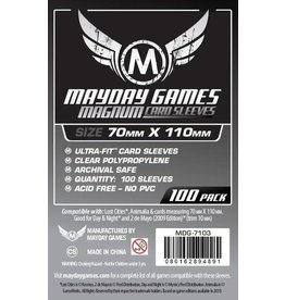 Mayday Games Lost Cities Card Sleeves Magnum Ultra-Fit (70x110mm) 100ct