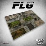 Frontline Gaming FLG City 1 6x4' Mat